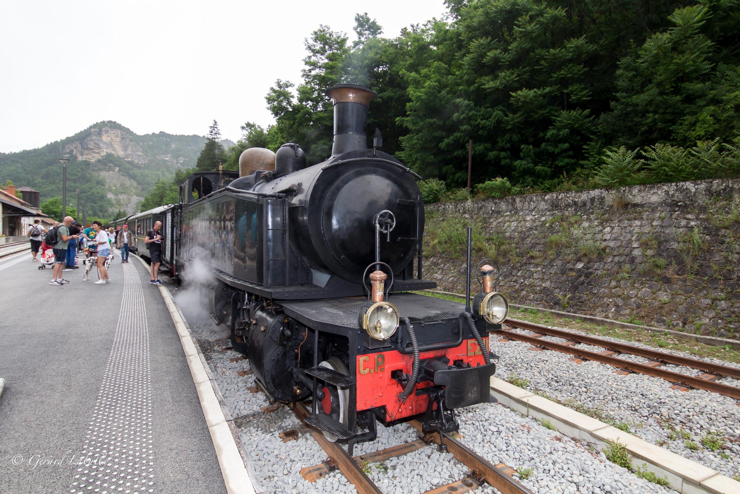 Train à Vapeur-Puget Thénier